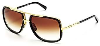 Amazon.com: Dita Mach-One Sungalasses 18K Gold and Black with Dark