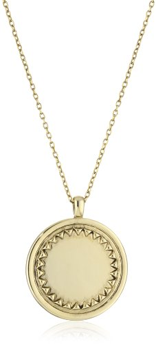 House of Harlow 1960 Gold-Plated Metal Sunburst Pendant Necklace