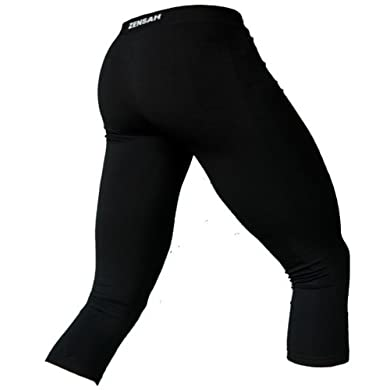 Zensah 3/4 Length Compression Tights