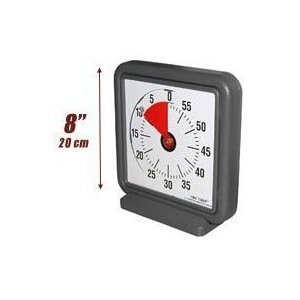 TIMER TIMER 8 INCH NEW MODEL WITH AUDIBLE OPTION (Time Timer Watch compare prices)