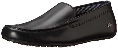 Lacoste Men's Bonand Slip-On Loafer, Black, 13 M US