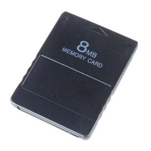 Neewer (3x) 8MB 8 MB Memory Card for SONY PS2 Playstation2 PS 2