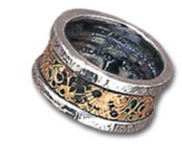 Alchemy Empire: Steampunk Dr. Von Rosensteins Induction Principle Ring