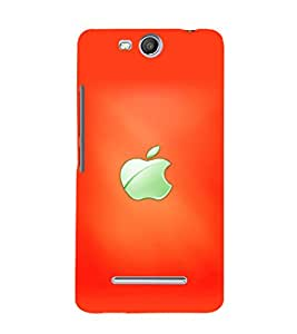 printtech Apple Back Case Cover for Micromax Canvas Juice 3 Q392