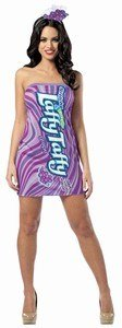 Nestle Laffy Taffy Grape Candy Tank Dress Adult Costume