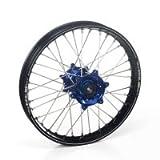 Haan Products Haan-Wheels Haan Wheelsyamaha Blue Hubs & Black Rims, 18-2.15 Yzf/Wr 250-450 03-08 End