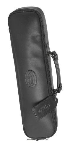 Reunion Blues Flute Case Cover Chestnut Brown Leather