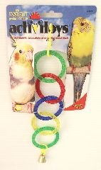 Circular Rings Bird Toy