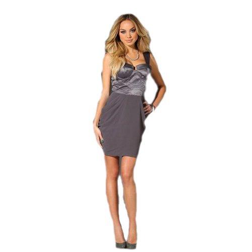 Lipsy -  Vestito  - Donna grigio 42