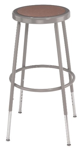 National Public Seating 6224H Steel Stool