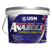 USN Muscle Fuel Anabolic - 4kg - Vanilla Anabolic Support Nutritional Supplements