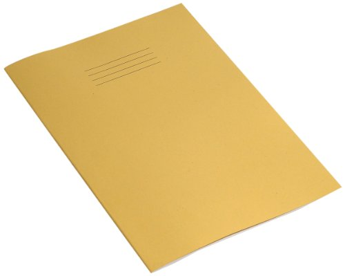 rhino-a4-blank-48-page-exercise-book-yellow-cover-pack-of-10