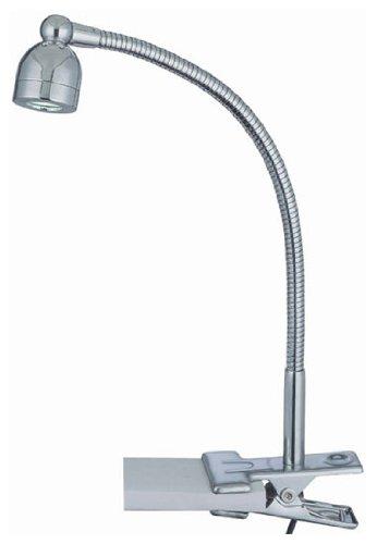 Lite Source Ls-21098C Calipso Led Clip-On Lamp, Chrome