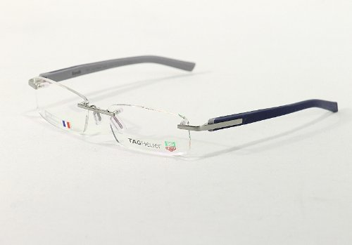 TagHeuer Eyeglasses 8108 TH8108 004 Pure Blue Tag Heuer Optical Frame
