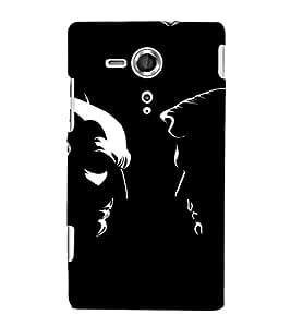 EPICCASE day vs night Mobile Back Case Cover For Sony Xperia SP (Designer Case)