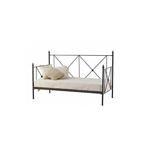 Sofá cama de forja Aspas - Gris sumi
