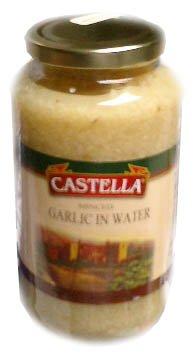 Minced Garlic in Water (Castella) 2lb (32oz)