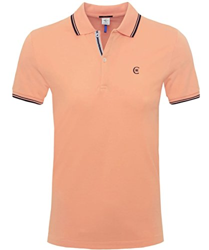 Cerruti 1881 Regular Fit Polo piquet Orange XL