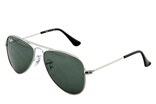 Ray-Ban Junior 9506S 200/71 Gunmetal 9506 Aviator Sunglasses Lens Category 3 Si