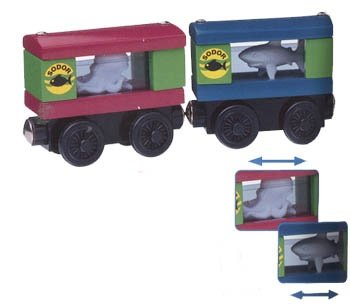Thomas & Friends Wooden Railway Aquarium Cars - Buy Thomas & Friends Wooden Railway Aquarium Cars - Purchase Thomas & Friends Wooden Railway Aquarium Cars (Thomas & Friends, Toys & Games,Categories,Play Vehicles,Wood Vehicles)