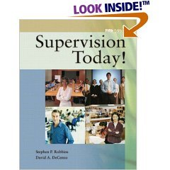 Supervision Today: David A. Decenzo (Paperback,