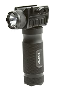 AIM Sports Flashlight 150 Lumens with Tactical Grip by AIM Sports