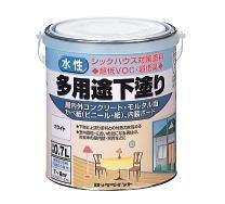 ロックペイント 多用途下塗り 水性下塗りシーラー ホワイト 0.7L