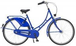 "Holland Nostalgie Damen ""Eco"" Fahrrad, kobaltblau, 55 cm"