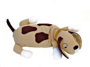 Hot PETS, Dog. Stuffed animal. Fair Trade, Natural. Handmade by micro-sensations