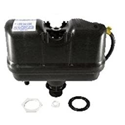 Flushmate M-101526-F31 FM III 503 Pressure Assist tank without trip rod for most OEM 2 piece toilets using Flushmate rod not included