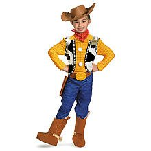 Toy Story Woody Deluxe Halloween Costume - Child Size 4-6