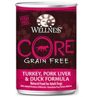 Wellness CORE Grain-Free Turkey, Pork Liver & Duck Formula C