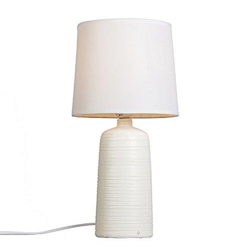 qazqa-diseno-moderno-lampara-de-mesa-ceramic-blanca-yeso-ceramica-textil-redonda-adecuado-para-led-e