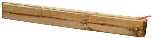 b+t FUE100-2 Sankasten VARIO / Sandkastenschwelle inkl. Verbindungsteile / Länge: 100 cm / aus Kiefer / Sandkastenumrandung mit Gestaltungsmöglichkeit jetzt kaufen