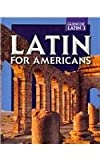 Latin for Americans -: Level 3 (0078742552) by B. L. Ullman
