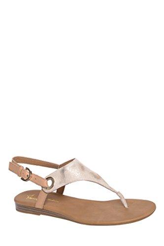 Grip Low Heel Thong Sandal