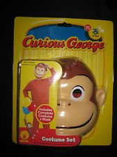 Curious George Basic Costume ( Toddler Size 2- 4)