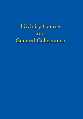 Divinity Course and General Collectanea: Of Items