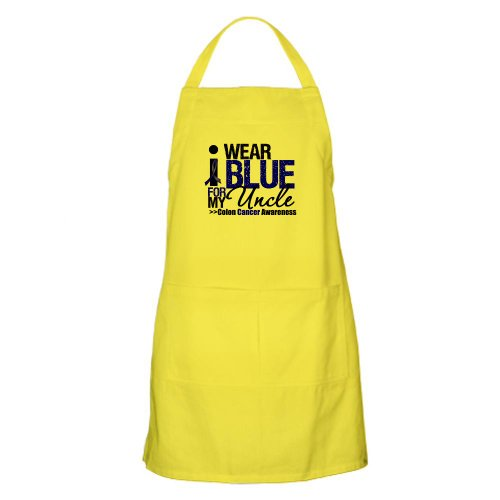 Cafepress I Wear Blue Uncle BBQ Apron - Standard