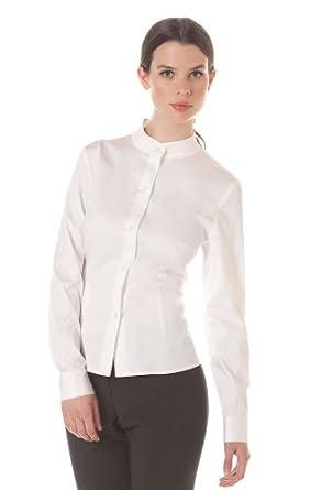 Spa uniforms women 39 s mandarin dress shirt for Spa uniform amazon
