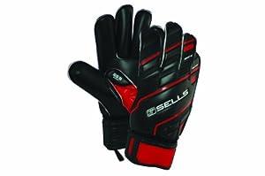 Sells Goalkeeper Products Wrap Excel Super Soft Soccer Goalie Gloves, Black, 11