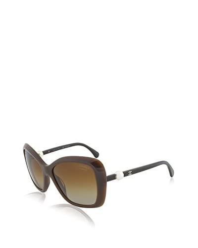 Chanel Women's CNL5303H Sunglasses, Brown As You See