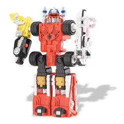 Buy Low Price Bandai Power Rangers: Mega-Vehicle and 5″ Figure – Set A (B000N5SAVI)