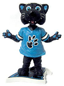 Carolina Panthers Sir Purr Bobblehead
