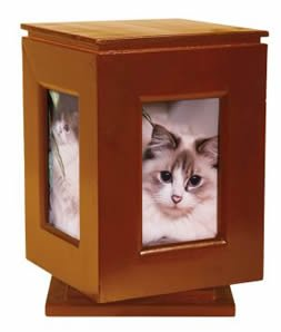Classic Products Keepsake Pet Memorial Display, Medium Rotating 5