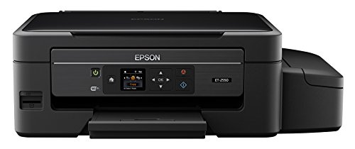 Epson Expression ET-2550 EcoTank Wireless Color All-in-One Supertank Printer with Scanner, Copier, Wi-Fi, Wi-Fi Direct, Tablet and Smartphone (iPad, iPhone, Android) Printing, Easily Refillable Ink Tanks (Printer Wireless Direct compare prices)