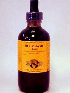 Herb Pharm Holy Basil Extract Supplement, 4 Ounce