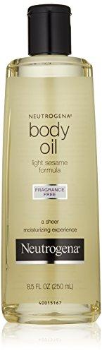 Neutrogena Body Oil, Light Sesame Formula, Fragrance Free, 8.5 Ounce 8.5 Ounce Bath