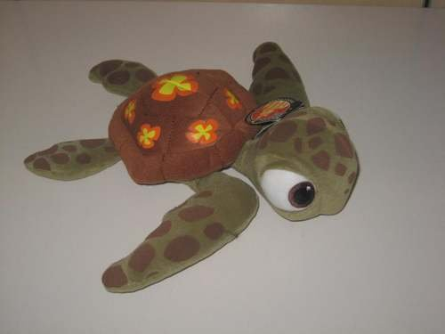 Disney Finding Nemo Squirt Turtle Plush Doll - 1