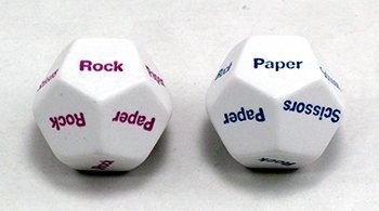 Rock Paper Scissors d12 Dice (2)